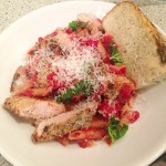 Penne with Sun-Dried Tomato Grilled Chicken and Basil