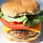 Apple-Mango Turkey Burger