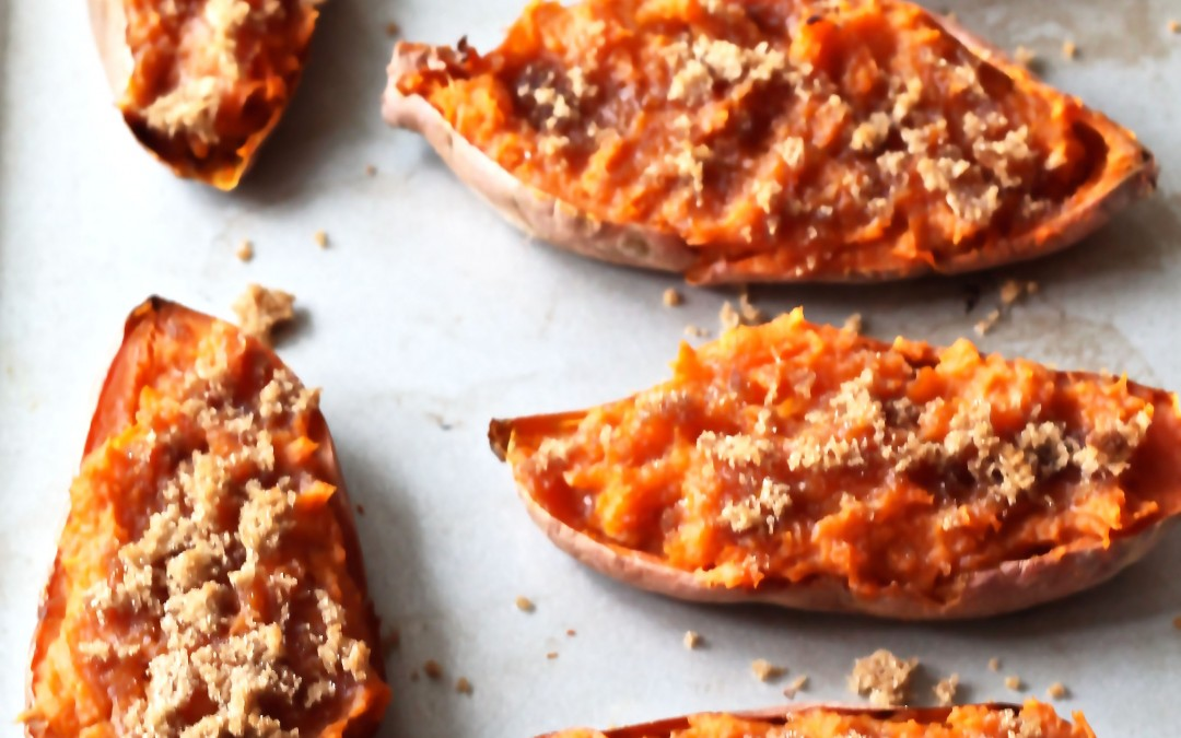 Twice Baked Sweet Potatoes