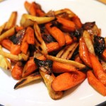 Cider Glazed Roasted Root Vegetables