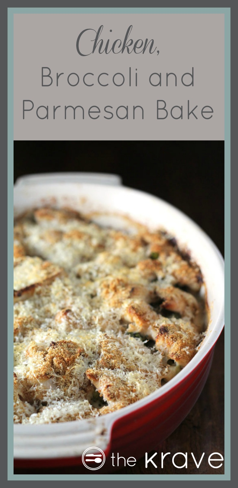 Chicken, Broccoli and Parmesan Bake