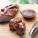 Sweet and Spicy Glazed Pork Tenderloin