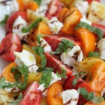 Tomato and Fresh Mozzarella Salad