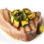 Grilled Tuna with Ginger-Soy Vinaigrette